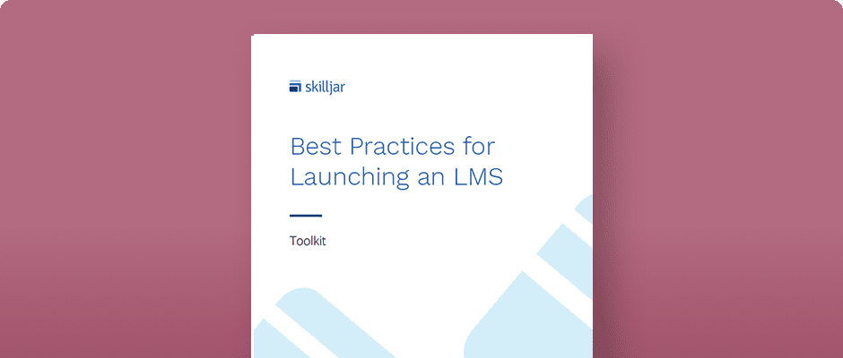 Best Practices for Launching an LMS eBook Cover