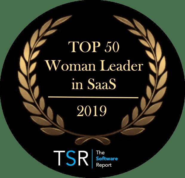 TSR Top 50 Women Badge