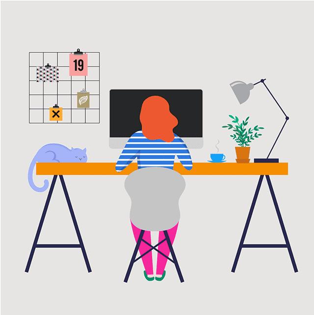 Remote Worker_Desk