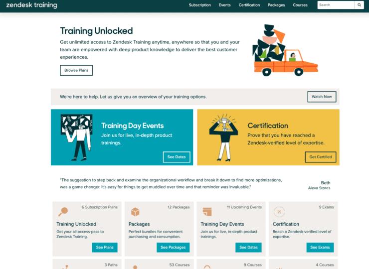 Zendesk Training Portal