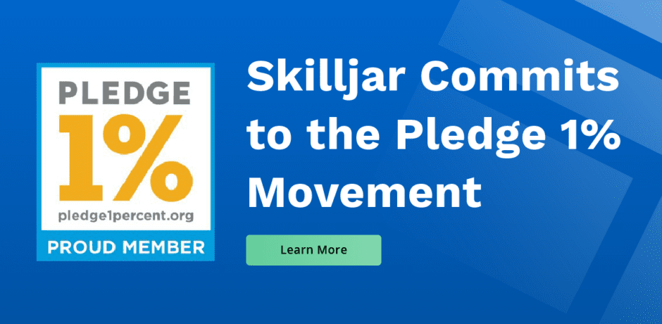 Skilljar Commits to 1% Pledge
